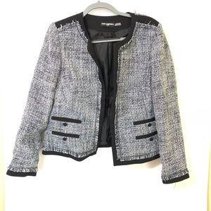 Karl Lagerfeld tweed blazer/L